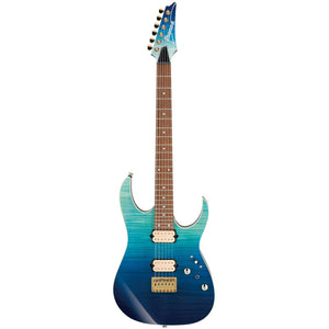 Ibanez RG421HPFMBRG RG High Performance Electric Guitar, Blue Reef Gradation