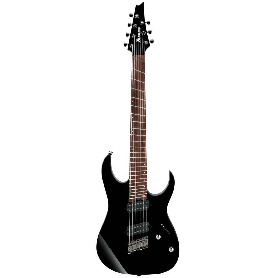 Ibanez RGMS7BK RG Multi-Scale, 7 String, Black, Jatoba FB