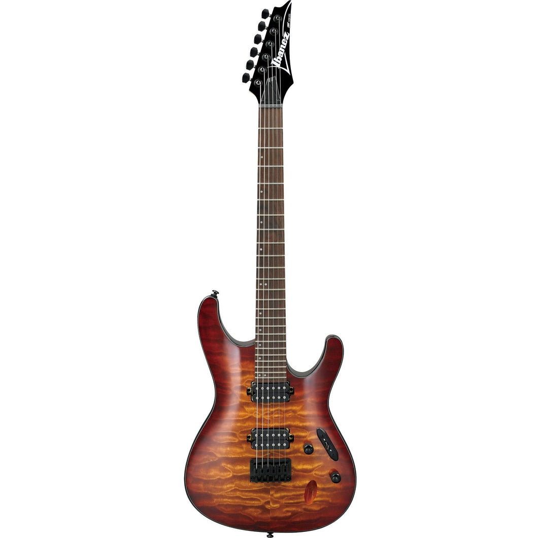 Ibanez S621QMDEB S Standard HH Hardtail Electric Guitar, Dragon Eye Burst