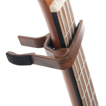 Load image into Gallery viewer, Kala Kala K-CAPO-WLT Ukulele Capo, Walnut - Easy Music Center