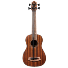 Load image into Gallery viewer, Kala Kala UBASS-SMHG-FS Acoustic-Electric U-Bass Ukulele - Easy Music Center