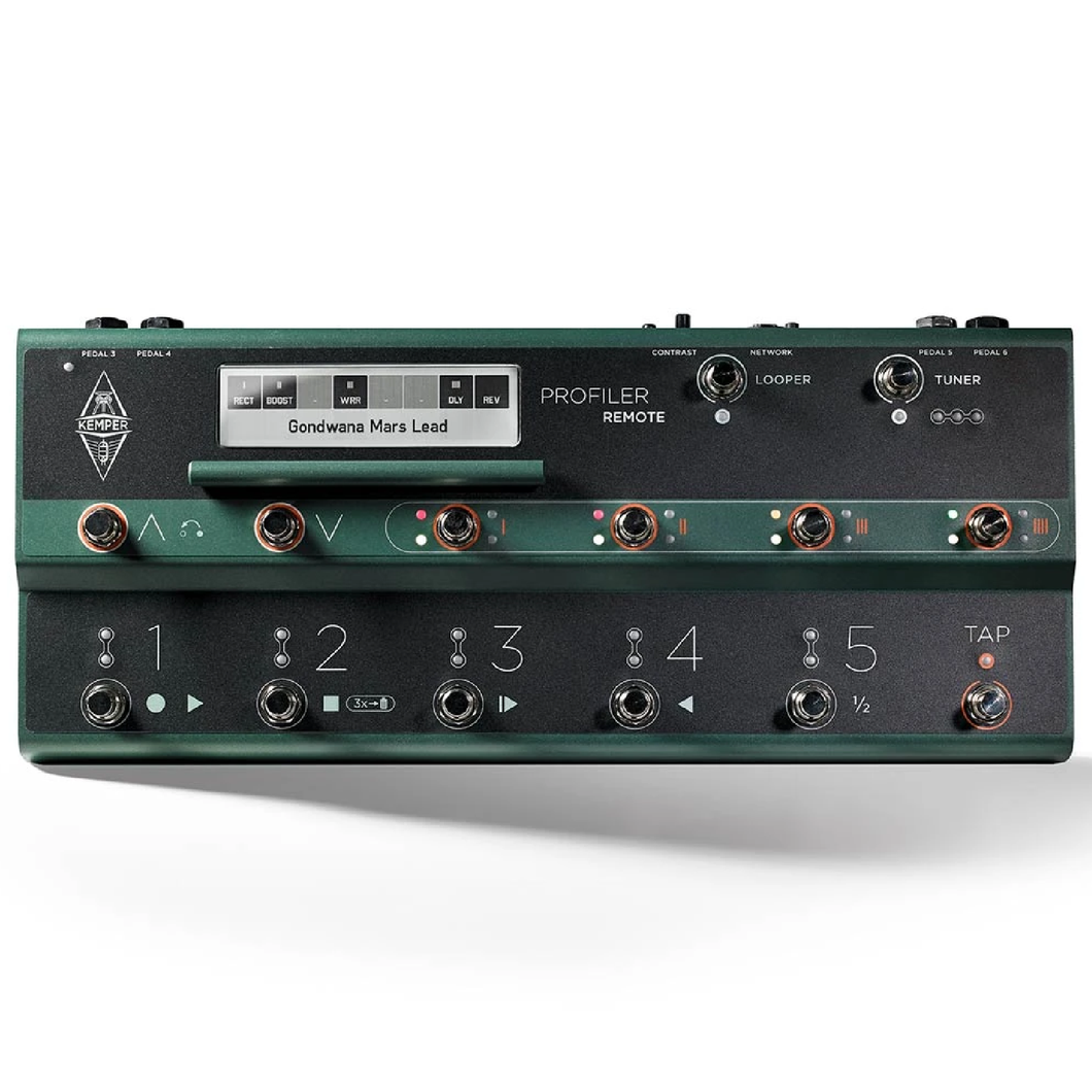 Kemper PROF-REMOTE Foot Controller for Profiler Head and Rack