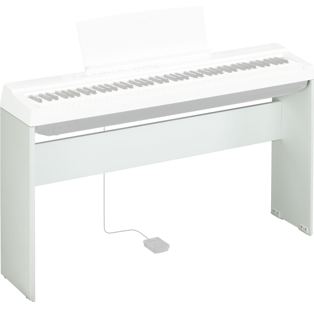 Yamaha L125WH Matching Piano Stand for P125WH, White