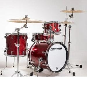 Ludwig LC179XX025 Breakbeats Questlove Drum Kit, Wine Red Sparkle