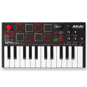 Akai MPKMINIPLAY Mini Keyboard and Drum Pads with Built-In Sounds