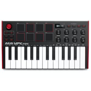 Akai MPKMINI3 Ultra Compact 25-Key Mini Keyboard and Drum Pads