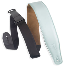 "Load image into Gallery viewer, Levy MRHGS-AQU 2.5"" Garment Right Height Guitar Strap, Light Blue, Aqua"