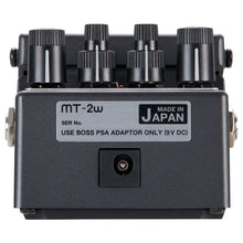 Load image into Gallery viewer, Boss MT-2W Metal Zone Waza Craft Distortion Pedal