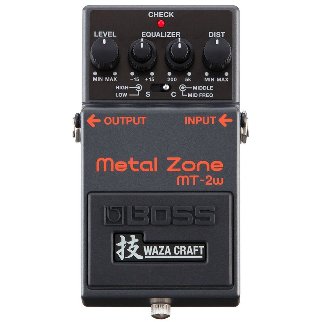 Boss MT-2W Metal Zone Waza Craft Distortion Pedal