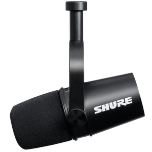 Shure MV7-K Dynamic Podcast Microphone w/ USB