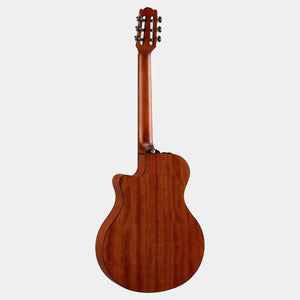 Yamaha NTX1-NT Nylon String Acoustic-Electric Guitar, APX Shape, Natural
