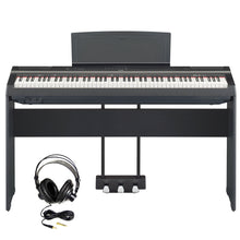 Load image into Gallery viewer, Yamaha P125B Digital Piano Bundle, Black
