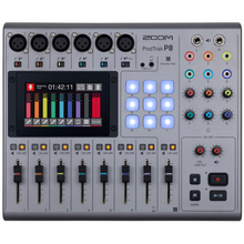 Load image into Gallery viewer, Zoom PODTRAK-P8 PodTrak P8 Multi-Track Recording Mixer