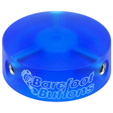 "Load image into Gallery viewer, Barefoot Button 18-V1-ST-BA Pedal Button V1 3/8"", Blue"