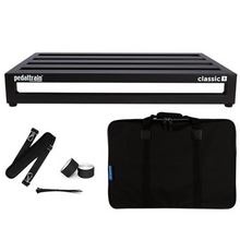 "Load image into Gallery viewer, Pedaltrain PT-CL3-SC Classic 3 w/ Softcase - 5 Rails, 24"" x 16"""