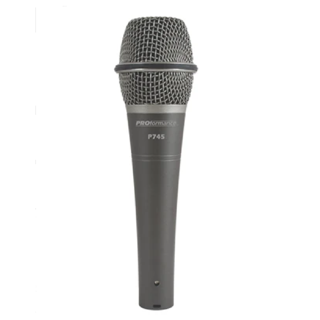 ProFormance P745 Supercardioid Dynamic Handheld Microphone