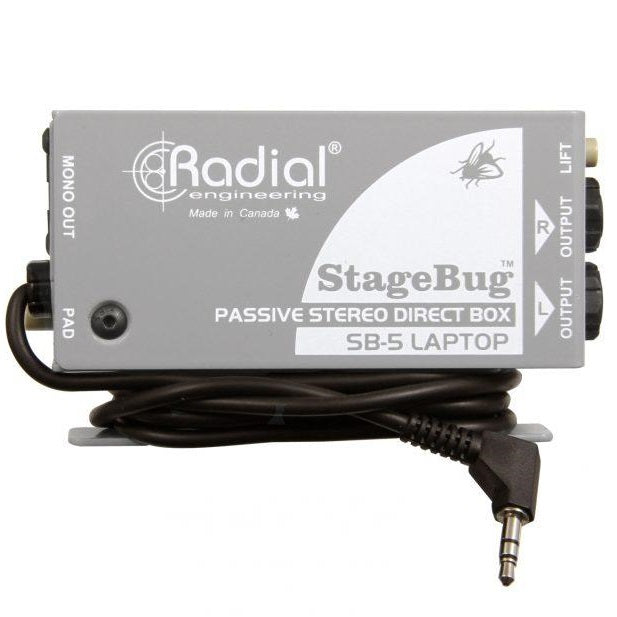 Radial Engineer R8000150 SB-5 Laptop Compact Stereo DI