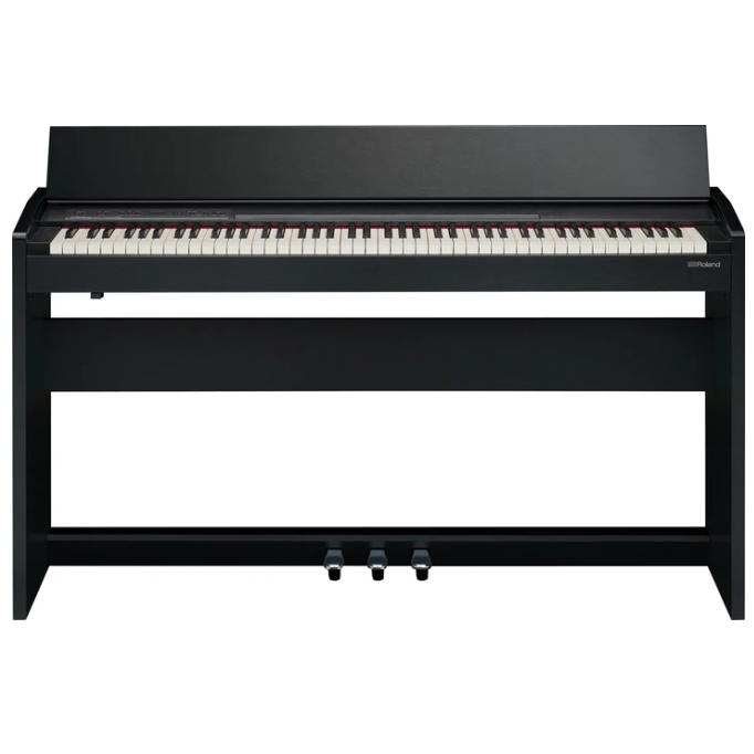 Roland F-140R-CB 88-Key Digital Piano, Contemporary Black