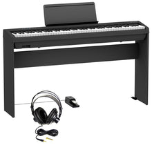Load image into Gallery viewer, Roland FP-30X-BK 88-key Digital Piano Essentials Bundle, Black
