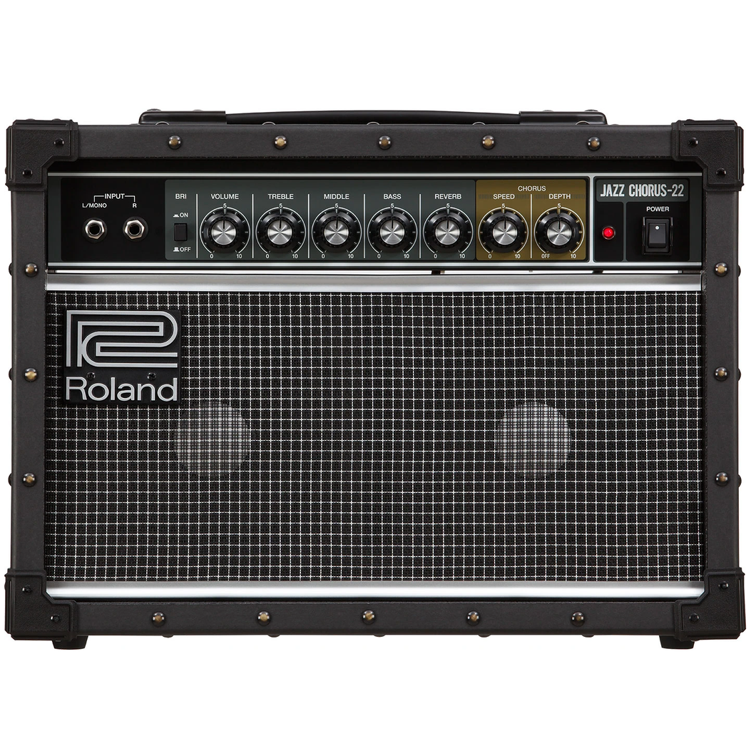 Roland JC-22 Jazz Chorus Amp - 30w, 2x6.5 in.