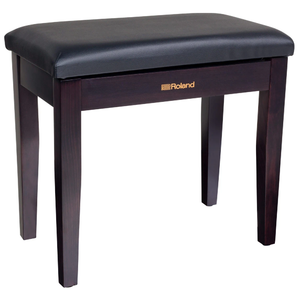 Roland RPB-100RW Fold-Up Piano Bench, Satin Rosewood