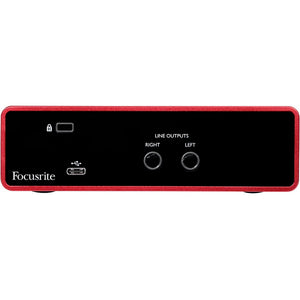 Focusrite SCARLETTSOLOG3 Studio Interface Easy Bundle