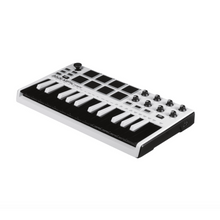 Load image into Gallery viewer, Akai MPKMINI2WHITE Mini Keyboard and Drum Pads, Limited Edition White