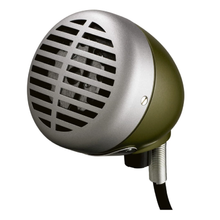 Load image into Gallery viewer, Shure 520DX Green Bullet Harmonica Microphone