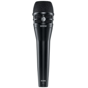 Shure KSM8/B Dualdyne Dynamic Handheld Vocal Microphone, Black