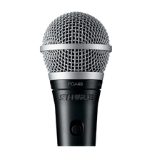 Load image into Gallery viewer, Shure PGA48-QTR Cardioid Dynamic Vocal Microphone with QTR Cable