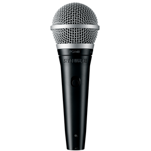 Shure PGA48-XLR Cardioid Dynamic Vocal Microphone with XLR Cable