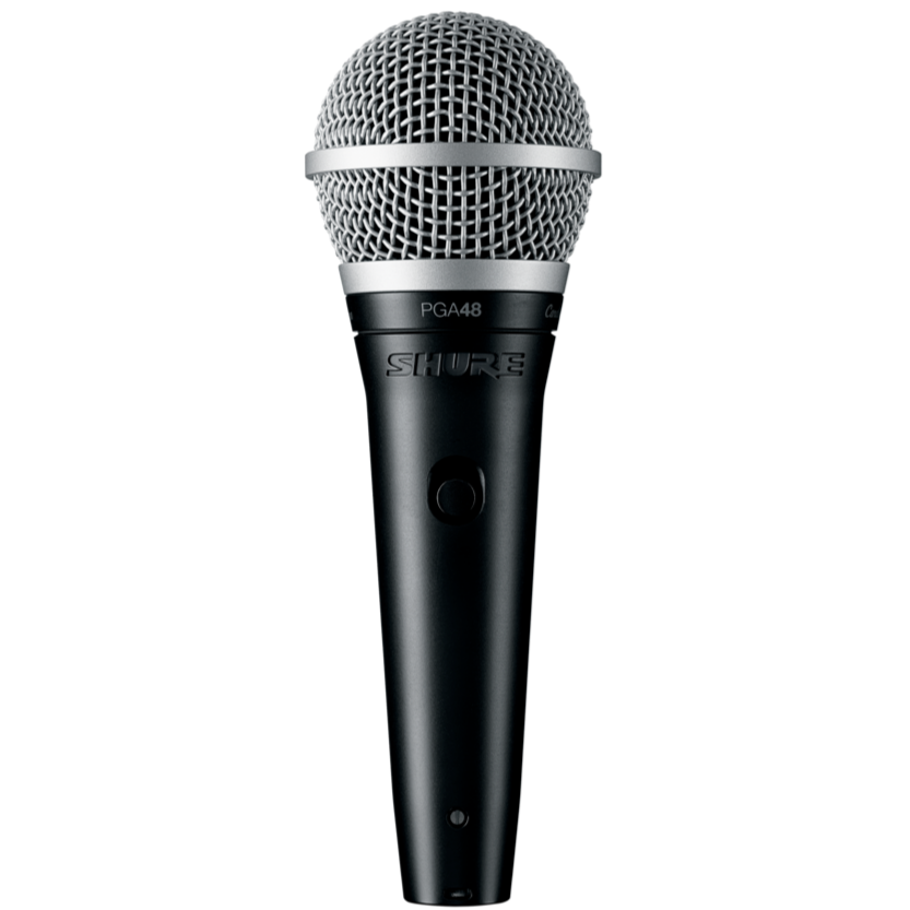 Shure PGA48-QTR Cardioid Dynamic Vocal Microphone with QTR Cable