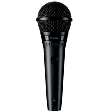 Load image into Gallery viewer, Shure PGA58-QTR Cardioid Dynamic Vocal Microphone with QTR Cable