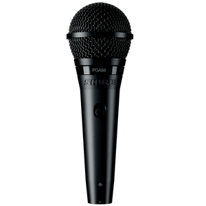 Shure PGA58-QTR Cardioid Dynamic Vocal Microphone with QTR Cable