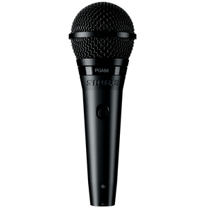 Shure PGA58-XLR Cardioid Dynamic Vocal Microphone with XLR Cable