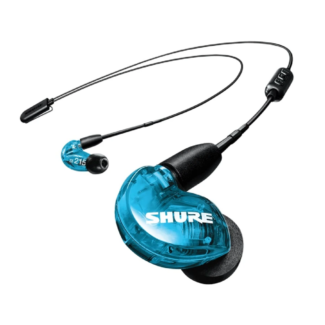 Shure SE215SPE-B+BT2 SE215 with  Bluetooth, Extended Bass, Blue
