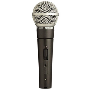 Shure SM58S Dynamic Cardioid Microphone with Switch