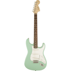 Squier 037-0600-557 Affinity Stratocaster Electric Guitar, Laurel Surf Green