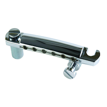 Load image into Gallery viewer, Gibson PTTP-010 Stop Bar Tailpiece, Chrome