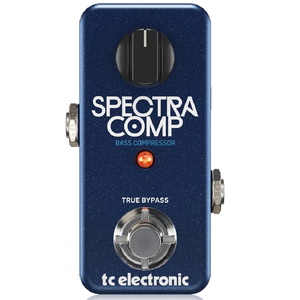 TCElectronic 960-814001 Spectra Comp - Mini Bass Compressor Pedal