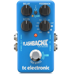 TCElectronic 960-823001 Flashback Delay & Looper 2 Pedal