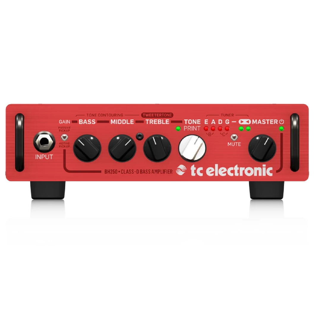 TCElectronic BH250 250 Watt Micro Bass Head
