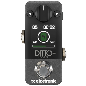 TC Electronic DITTO+ 60-Minute Looper Pedal