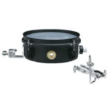 Load image into Gallery viewer, Tama BST83MBK 3x8 Steel Snare, Includes MC69 - Black/Black