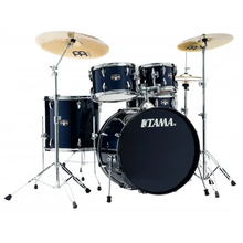 Load image into Gallery viewer, Tama IE52CDB Imperialstar 5pc Complete Kit, 10, 12, 16, 22, 14s, Dark Blue