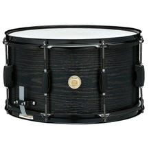 Load image into Gallery viewer, Tama WP148BK 8x14 Poplar Woodworks Snare Drum, Black