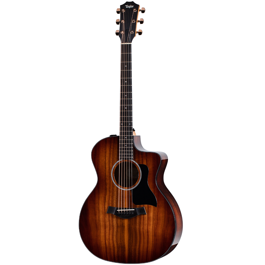 Taylor 224CE-K-DLX Grand Auditorium Koa Acoustic-Electric Guitar, Deluxe
