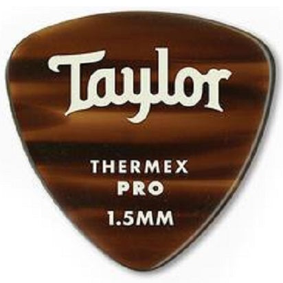 Taylor 80758 Taylor Premium 346 Thermex Pro Picks, Tortoise Shell, 1.50mm, 6-Pack