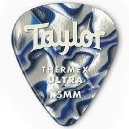 Taylor 80759 Taylor Premium 351 Thermex Pro Picks, Tortoise Shell, 1.50mm, 6-Pack