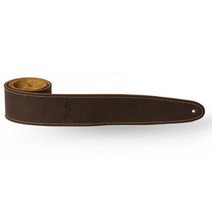 "Taylor TL250-05 Taylor Strap, Suede Back, 2.5"", Chocolate Brown Leather"